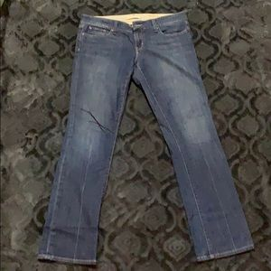 Gap low rise straight leg jeans size 10